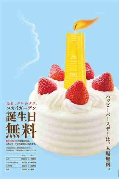 お誕生日おめでとう 施設トピックス スカイガーデン 横浜